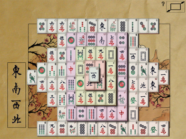 Mahjong In Poculis full screenshot